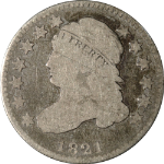 1821 Bust Dime - Small Date