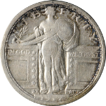 1917-S Type 1 - Standing Liberty Quarter