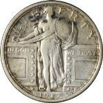 1917-P Type 1 -Standing Liberty Quarter