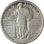 1917-D Type 1 - Standing Liberty Quarter