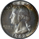 1953-S Washington Quarter PCGS MS66 Great Eye Appeal Strong Strike