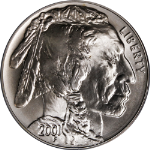 2001-D Buffalo Silver Commemorative $1 ICG MS70 Superb Eye Appeal