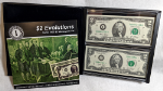 Series 2003 $2 Star Note Evolutions Set Minneapolis -Matching Serial #I00002715A