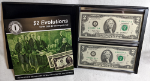 Series 2003 $2 Star Note Evolutions Set Minneapolis -Matching Serial #I00002714A