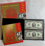 2008 $2 Federal Reserve Set - Double Lucky Money 2 Notes - OGP from BEP