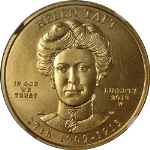 2013-W First Spouse Gold $10 Helen Taft NGC MS70 Spouse Label