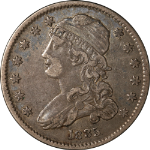 1835 Bust Quarter Choice VF/XF Great Eye Appeal Strong Strike