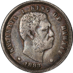 1883 Hawaiian Commemorative Dime