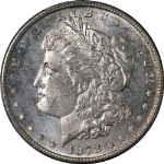1878-S Morgan Silver Dollar PCGS MS65 Great Eye Appeal Strong Strike