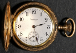 Ball Waltham Queen Pocket Watch 0 Size 16 J. Gold-Filled Hunting