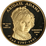 2007-W First Spouse Gold $10 Abigail Adams NGC PF69 Ultra Cameo First Lady STOCK