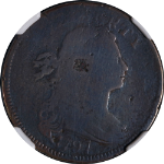 1797 Large Cent Rev of 97 NGC VG Details S-122 R.6-