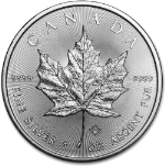 2019 Canada 1 Ounce Silver Maple Leaf BU