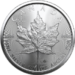 2020 Canadian 1 Ounce Silver Maple Leaf BU