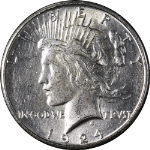1924-S Peace Dollar Nice Unc Blast White Nice Eye Appeal Nice Strike