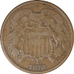 1870 Two (2) Cent Piece