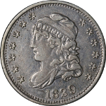 1829 Bust Half Dime Choice XF/AU Great Eye Appeal Nice Strike