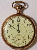 E. Howard Series 10 Pocket Watch 16 Size 21 J. Adj. 5p Gold-Filled Hunting