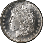 1878-S Morgan Silver Dollar PCGS MS64 Blazing White Superb Eye Appeal