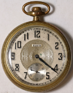 Elgin Grade 291 Parts/Repair Pocket Watch 16 Size 7 J. Gold-Filled Open-Face
