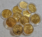 2007-Present First Spouse Gold $10 BU Random Date - Capsule Only - No Box