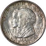 1921 Alabama 2x2 Commem Half Dollar PCGS MS64 Superb Eye Appeal Strong Strike
