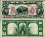 FR. 119 $10 1901 Legal Tender VF+