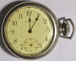 American Waltham Grade 610 Parts/Repair Pocket Watch 16 Size 7 J. Nickeloid O/F