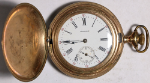 American Waltham Grade V parts/repair Pocket Watch 6 Size 15 J. G/F Hunting