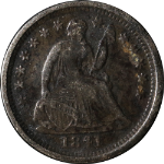 1841-O Seated Liberty Half Dime