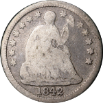 1842-O Seated Liberty Half Dime