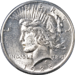 1925-P Peace Dollar PCGS MS63 Bright White Great Eye Appeal Nice Strike STOCK