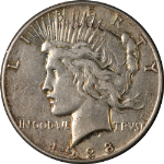 1928-P Peace Dollar Nice VF Details Key Date Nice Eye Appeal Nice Strike