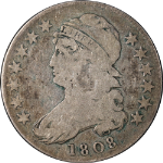 1808 Bust Half Dollar Choice VG+ 0-103 R.1 Great Eye Appeal Nice Strike