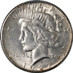 1927-P Peace Dollar PCGS MS64 Nice Eye Appeal Nice Luster Strong Strike