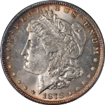1878-P 7/8TF Morgan Silver Dollar Strong PCGS MS65 Superb Eye Appeal