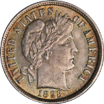 1898-P Barber Dime Choice BU Superb Eye Appeal Strong Strike