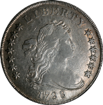 1799/8 Bust Dollar XF Detail 9/8 Overdate