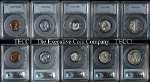 1937 5 Piece Proof Set PCGS Certified PR65-66-67 See Description