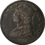 1835 Bust Quarter Nice XF+ Very Nice Old Time Color and Surfaces