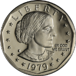 1979-S Susan B. Anthony Dollar Type 1 Proof Roll 25 Coins
