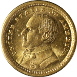 1903 McKinley Louisiana Purchase Commem Gold $1 BU