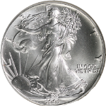 1991-P Silver American Eagle $1 NGC MS69