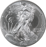1998 Silver American Eagle $1 NGC MS69