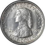 1921 Missouri Commem Half Dollar NGC MS66  Nice Luster  NICE EYE APPEAL