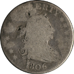 1806 Bust Quarter Nearly G Nice Eye Appeal