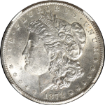 1878-CC Morgan Silver Dollar NGC MS62 Mostly White