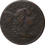 1794 Large Cent Head of 1794 VF Details R.5- S.51 Decent Eye Appeal Nice Strike