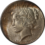 1927-P Peace Dollar PCGS MS64 Wonderfully Original and Undipped