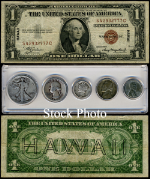 World War II Coin & Currency Collection - STOCK